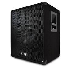 "15"" ACTIVE DJ PA DISCO SUBWOOFER BASS SPEAKER w. BI-AMP *FREE P&P SPECIAL OFFER"