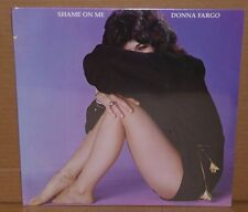 Donna Fargo Shame On Me 1977 VINYL LP record club issue NEW SEALED cut out