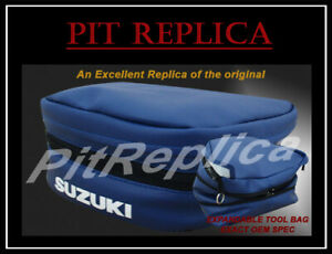 SUZUKI DR600 DR 600 DR650 DR 650 DAKAR REAR SEAT FENDER TOOL BAG POUCH [SOSPS]