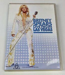 Britney Spears Live From Las Vegas - Genuine Region 4 DVD