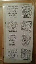 Stampin' Up! Stamp Set New Unmounted- QUICK & CUTE