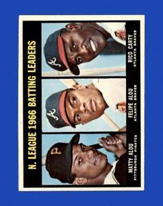 1967 Topps Set Break #240 NL Batting Leaders EX-EXMINT *GMCARDS*