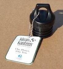 NEW Klean Kanteen Loop Cap Black fits 12oz/18oz/27oz/40oz/64oz