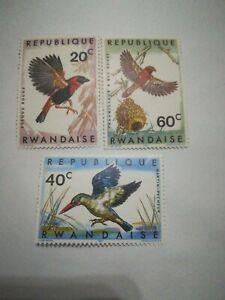 Francobolli Ruanda