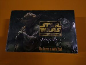 Star Wars CCG Dagobah Limited Edition BB Booster Box Factory Sealed DECIPHER NEW