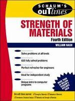 Schaum's Outline of Strength of Materials by Nash, William A.