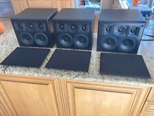 Set of 3 M&K Sound Miller & Kreisel S150 L/C/R Speakers - Black