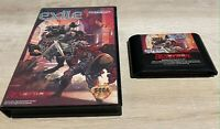 Exile (Sega Genesis) Game and Case -- Authentic -- Tested