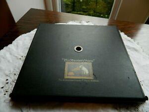 HMV 101 Portable  Gramophone Lid Record Storage Flap.