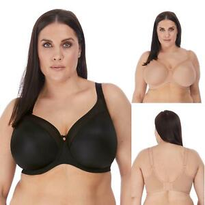 Elomi Smooth Underwired T-Shirt Bra 4301 Non-Padded Plus Size DD to J Cups