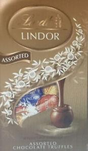 1 New Bag Of Lindt Lindor Assorted Chocolate Truffles Milk Dark White 5.1 Oz