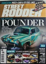 Street Rodder Aug 2017 Quarter Pounder Track Performance Custom FREE SHIPPING sb