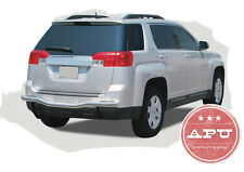 Fits 10-15 Chevy Equinox GMC Terrain Rear Bumper Guard Protector Stainless