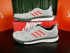 Adidas Adizero Tempo 9 Boost Grey Mens Running Shoes BB6651 Size 12.5