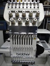 Brother Bas-416 embroidery machine needle case & tensioner assembly