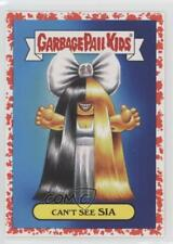 2017 Topps Garbage Pail Kids Battle of the Bands #10a Can't See Sia Card 0c4