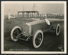 1923 RALPH DePALMA Vintage Photo in Packard Car AUTOGRAPHED ON BACK!