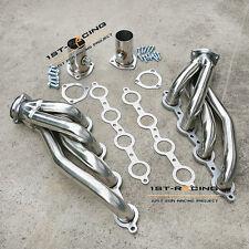 SS 304 LS1 LS6 LSX LS2 Conversion Swap Headers (Camaro, Chevelle, Nova,Firebird)