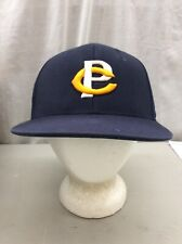 trucker hat baseball Cap Fitted Vintage Retro Crookston Pirates L/ XL Blue MN