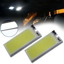 2x 12V Xenon HID White 36-COB LED Dome Map Light Bulb Car Interior Panel Lamp