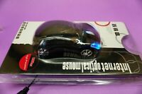 Black Car Shaped USB 3D Optical Mouse for Computer Laptop PC NEW