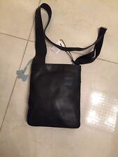RADLEY LEATHER POCKET BAG CROSS BODY / MESSENGER BAG Black BNWT rrp £89