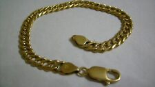 18ct GOLD / 750 LINK CHAIN BRACELET 7.5 INCH
