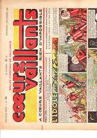COEURS VAILLANTS 1948 n°36. Tintin Temple du Soleil