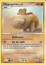 """Carte Pokemon """" HIPPOPOTAS """" Niv 23 Diamant & Perle PV 60 51/130 UNCO VF"""