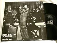 BILLY ECKSTINE Together Fats Navarro Gene Ammons LP Art Blakey Sarah Vaughan