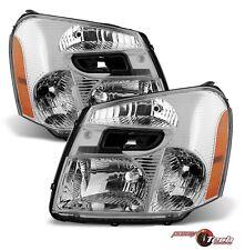 05-09 Chevy Equinox Headlights Pair Halogen-Type Headlamps Set New