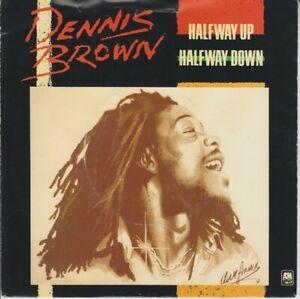 "Dennis Brown – Halfway Up Halfway Down -A&M Records – AMS 8250 -Vinyl, 7"""