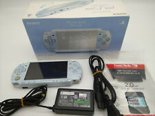 Console Psp Felicia Blue PSP-2000 Box Doesn'T Battery Tested Japan