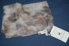 Colombo Animal Print Silk/Cashmere Scarf NEW BNWT