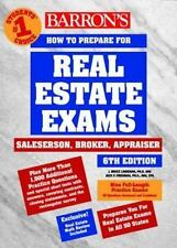 Barron's How to Prepare for the Real Estate Examination: Salesperson, Broker, ..
