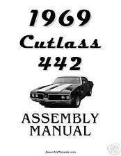 1969 Cutlass 442 Assembly Manual 69
