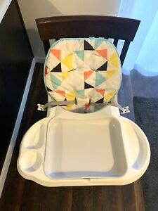 Fisher-Price SpaceSaver High Chair Multicolor Used Great Condition