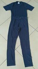 Skiunterwäsche Funktionsunterwäsche Kinder Gr. 140 blau Lange Hose T-Shirt
