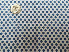 Best Vintage Feedsack Quilt Fabric 40s Novelty Blue Polka Dots Flour Full Sack