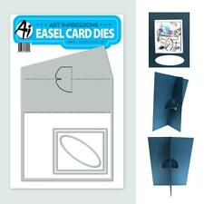 New listing New Art Impressions Square Easel Die For Cards spellbinders free Usa ship