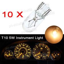 Yellow Halogen T10 W5W 168 194 2825 175 LED Instrument Gauge Cluster Dash Bulb A