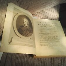Evelyn SILVA OR A DISCOURSE OF FOREST TREES 1786 Vintage Book