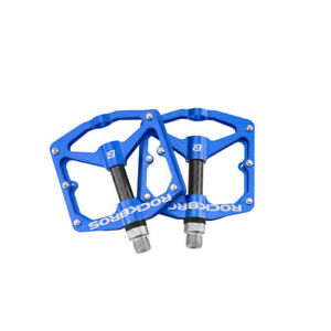ROCKBROS Bike Pedals Bicycle Carbon Fiber DU Sealed Bearing Alu Cycling Pedals