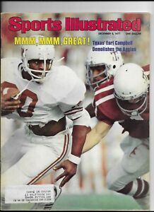 Sports Illustrated December 5 1977 Texas's Earl Campbell Demolishes Aggies NM