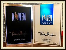 2 x Thierry Mugler: A*Men EDT & A*Men Pure Shot 1.2ml EDT Mini Samples