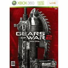 New Xbox360 Gears of War 2 Limited Edition Japan Import