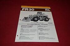 Fiat Allis Chalmers FR30 Wheel Loader Dealer's Brochure DCPA2