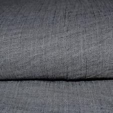 Silver Cotton Double Gauze, Dressmaking Fabric