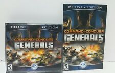 Command And Conquer Generals deluxe with zero Hour Expansion PC Complete