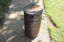 Vintage AERVOID Food Carrier-HUGE U.S. Military WWII Food Server Keg-Field Gear